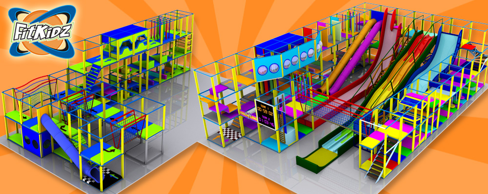 Fit Kidz Indoor Play - Timed obstacle course